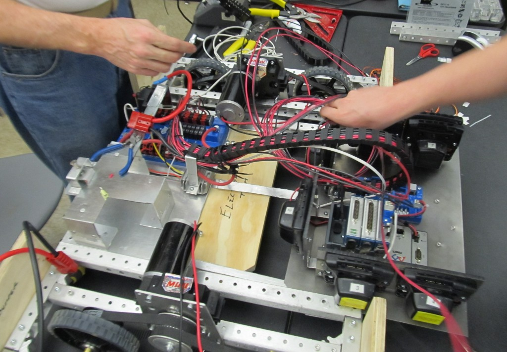 Pullout wiring / electronics